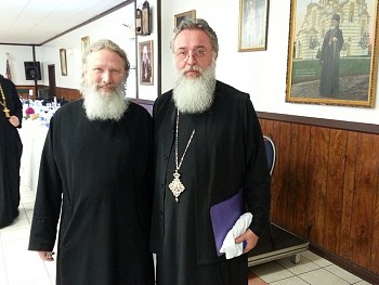 Fr Gregory was elevated to the rank of Protonamesnik by His Grace Bishop Longin at the annual Diocesan Days at New Gracanica. Congratulations to Fr Gregory!